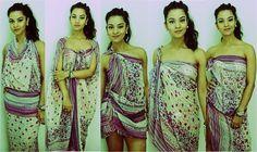 Como amarrar a canga (VERÃO 2014)! ~ Sarong/Pareo ~ dianasaid.com