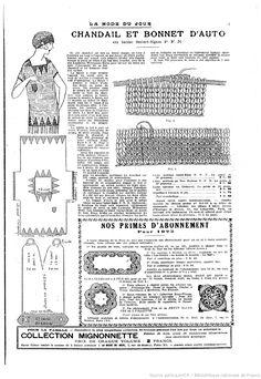 La Mode du jour. 1925/4/16