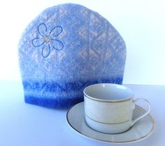 Teapot Cozy Teapot warmer made from a recycled by SewFreshAgain