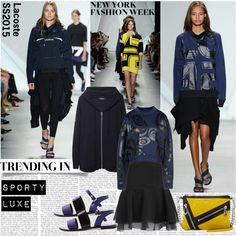 NYFW SS15 Sporty Luxe