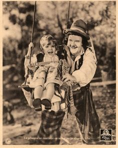 Oliver Hardy and Darla Hood Starring in The Bohemian Girl 1936