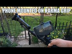 Mounting A Smart Phone on GoPro Karma Grip