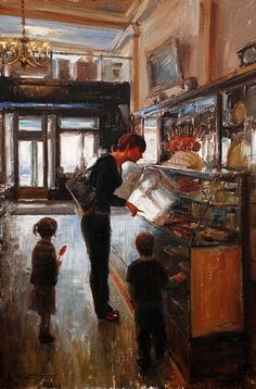 The Old Candy Shop  by Trent Gudmundsen  Oil30 x 20