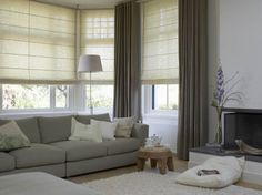 Vouwgordijnen Curtains Living Roomscurtain Ideasroman