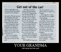 Your grandma will never be this cool…