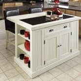 Found it at Wayfair - Nantucket Kitchen Island in Distressed White