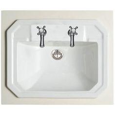 Savoy Old English White 600 Basin Unit with 2 tap hole basin Bathroom Sink Storage, Bathroom Sink Units, Inset Basin, Basin Unit, Vanity Units, Single Doors, Old English, Bathroom Furniture, Furniture Design