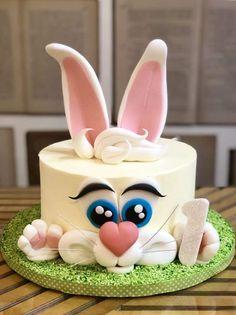 Creative Birthday Cakes, Birthday Cake For Him, Baby Birthday Cakes, Sweets Cake, Cupcake Cakes, Cupcakes, Beer Mug Cake, Royal Icing Cakes, Bolo Minnie