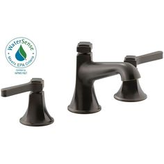 KOHLER Georgeson 8 in. Widespread 2-Handle Bathroom Faucet in Oil Rubbed Bronze