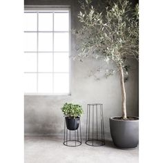 Wire Base stativ M, svart i gruppen Møbler / Bord hos Home Furniture, Furniture Design, Pots, Contemporary Patio, Dynamic Design, Scandinavian Living, Chairs For Sale, Simple Designs, Dining Chairs