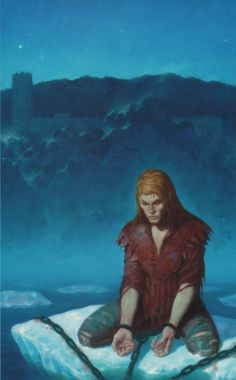 Dragonlance, Icewall Trilogy, The Messenger by Gerald Brom.