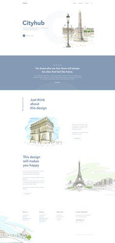 Cityhub - Creative Landing Page