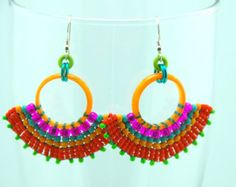 Earrings by Francie Broadie