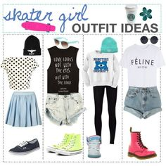 skater girl outfits - Google Search: