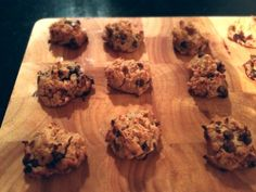 Ripped Recipes - Flourless Chickpea Chocolate Chip Cookies - Yummy gluten-free, healthy, flourless cookies. Can be made vegan as well!