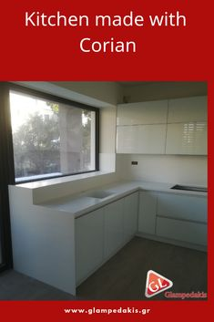 #Kitchen made with #Corian!