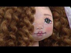 Pintura do rosto de boneca por Andreia Coimbra - 14/11/2017 - Mulher.com - P3/3 - YouTube