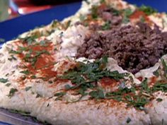Hummus Ma Lahma - this was my last dish in Israel before I left and I still think about it...need to make this soon!