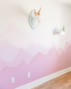 Today I am sharing one of my favourite DIY projects I have ever done, Ellia's Mountain Mural! I always knew when we built our last...