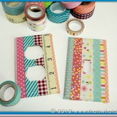 Wonderful Washi Tape Covers