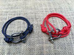 $22 -- nautical bracelets on etsy