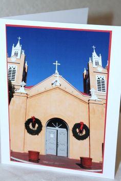 Photo Card San Felipe Church Old Town by RoadAheadPhotos on Etsy, $3.50