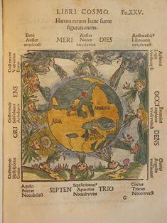 Cosmographicus Liber (1524) | Peter Apian