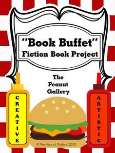 Inspire creativity and imagination with the Book Buffet Fiction Book Project ($)