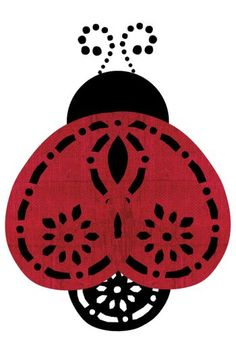 Paisley maker ladybug