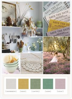 Rustic Romance - dig the color pallet unexpectedly