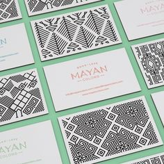Mayan Colors on Behance Corporate Design, Graphic Design Branding, Stationery Design, Graphic Design Illustration, Identity Design, Packaging Design, Brand Identity, Visual Identity, Zentangle