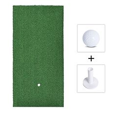 Golf Fairway Mats,Golf Training Mat,Golf Mat, Golf Practice Mat, Golf Fairway Mats with Golf Ball and Rubber Tee Golf Mats, Golf Practice, Travel Bottles, Golf Training, Soldering Iron, Kids Rugs, Decor, Kid Friendly Rugs, Decorating