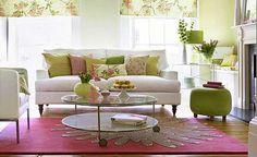Floral sitting room