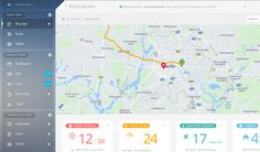 Web App from Apricot › PatternTap #animation #animated #dashboard