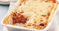 This lasagne is my go to recipe. Add lentils and some veggies like mushrooms, zucchini, eggplant or spinach to up the nutrition. Beef Lasagne, Lasagne Recipes, Pasta Recipes, Lasagna, How To Make Lasagne, Bechamel Sauce, Tray Bakes, Food Videos, Lasagne