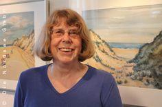 Silke Trolldenier, Buch- und Kunsthänderlin, in der Galerie am Wehlhamm in Ruhwarden #WattWiki