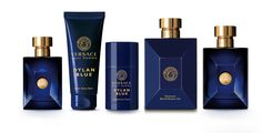 "Strength, charisma, individuality and driving passion are evoked in the new Versace Pour Homme- a highly distinctive fougère fragrance. The expression of a man's strength and charisma conveyed in modern and sensual Mediterranean freshness.  ""Dylan Blue is the essence of the Versace man today. It's a fragrance full of character and individuality.""  Donatella Versace"