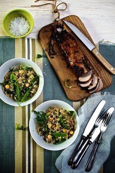 Visually delicious food blog
