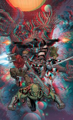 Guardians of the Galaxy 2 by xmancyclops on DeviantArt Galaxy Pictures, 3d Pictures, Wallpaper Pictures, Marvel Gif, 3d Poster, 3d Photo, Fun At Work, Galaxy Wallpaper, Guardians Of The Galaxy