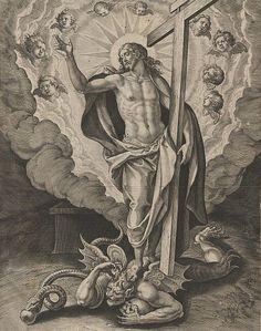 Cristo venceu Satanás e seus demônios na Cruz.
