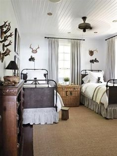 bedroom decorating in cottage style