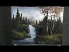 Paint with Kevin Hill - Sparkling Waterfall