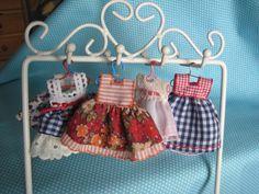 mini vestidos para casa de muñecas