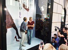 caliiigurlll: Ellen and Portia at Bergdorf... - Ellen and Portia DeGeneres