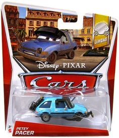Disney Pixar Cars PETEY PACER [Lemons #4/17] by Mattel. $8.99. Petey Pacer. Lemons set. Disney Pixar Cars. 2013 Disney Pixar Cars Petey Pacer car from the Lemons set!