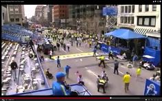 Boston Bombing - guy with legs blown off returns and is wheeled through ...