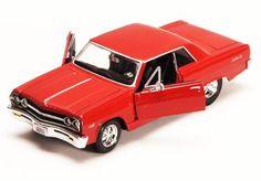 ** LOOK** Maisto - 1965 Chevy Malibu SS Hard Top Die Cast 1:24 DieCast Car Model