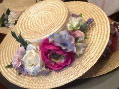 Canotier floral Floral, The Creation, Florals, Flower, Flowers