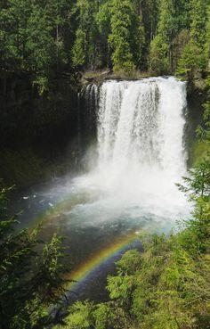 Koosah Falls - Oregon | Greg Vaughn - Printscapes with Pin-It-Button on FineArtAmerica