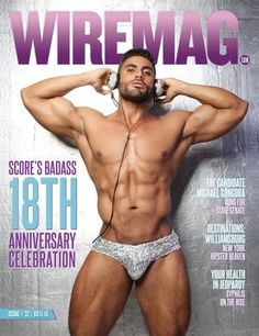 "Wire Magazine 32.2016 Score's 18th Anniversary  In this week's Wire Magazine cover story we preview the upcoming Score nightclub 18th anniversary celebration. We want to congratulate our friends at Score for 18 fabulous years entertaining locals and tourists in South Beach. As explained by co-owner Luis Morera, ""Score was born as a neighborhood dance bar and today it is one of the oldest most sought-after LGBTQ nightclubs in America."" We interview recording artist Natalie La Rose, Alain…"